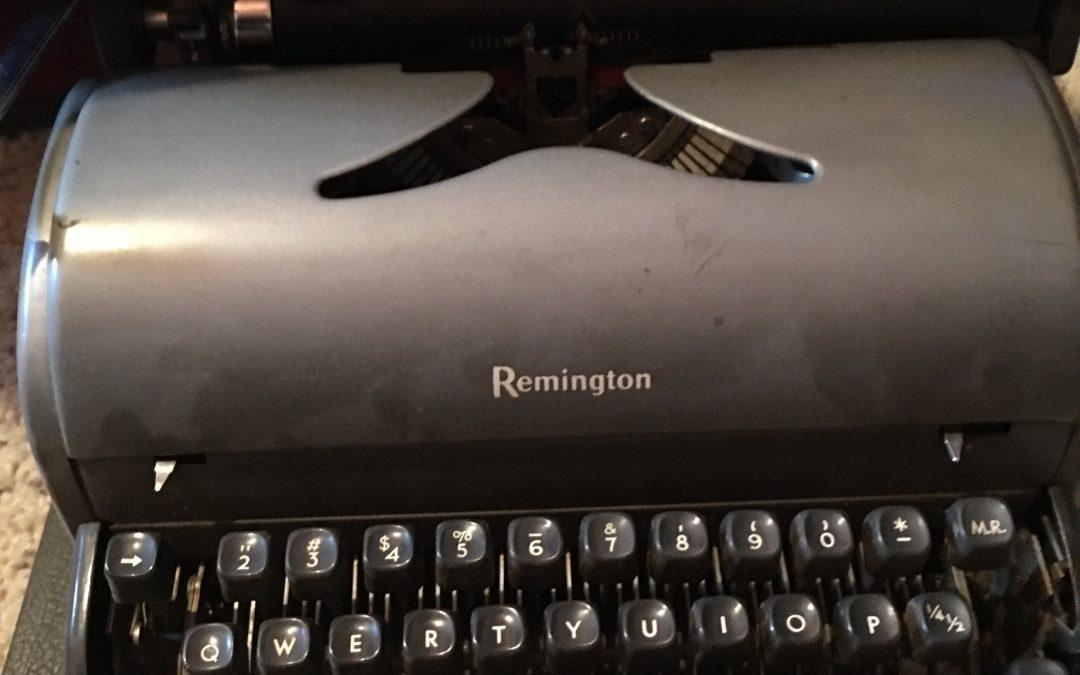 Flashback Friday -Typewriter